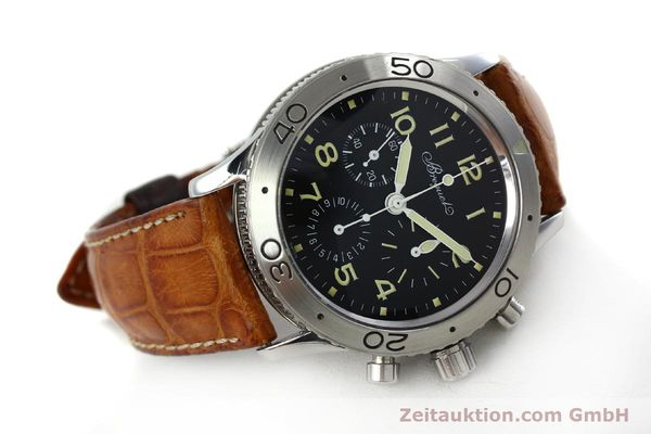 Used luxury watch Breguet Type XX chronograph steel automatic Kal. 582 Ref. 3800  | 152240 03