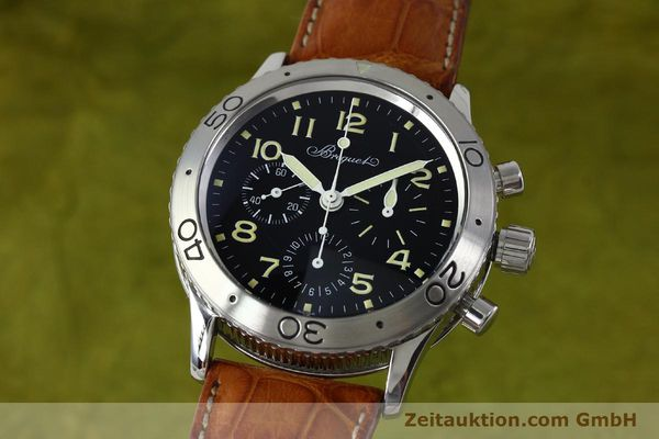 Used luxury watch Breguet Type XX chronograph steel automatic Kal. 582 Ref. 3800  | 152240 04