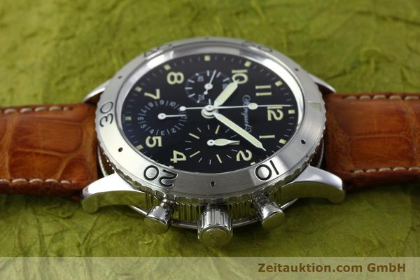 Used luxury watch Breguet Type XX chronograph steel automatic Kal. 582 Ref. 3800  | 152240 05