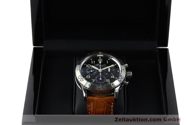 Used luxury watch Breguet Type XX chronograph steel automatic Kal. 582 Ref. 3800  | 152240 07
