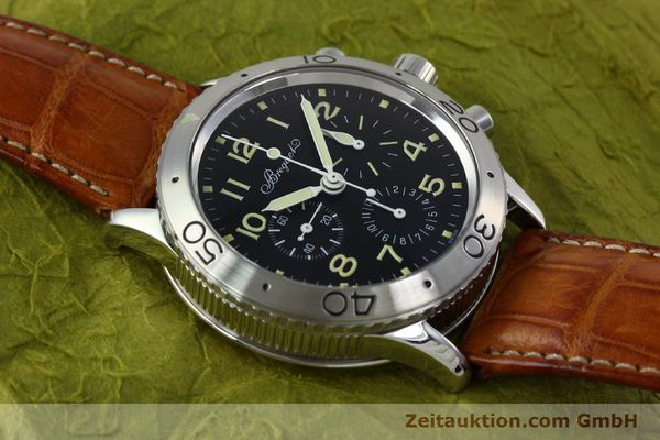 Used luxury watch Breguet Type XX chronograph steel automatic Kal. 582 Ref. 3800  | 152240 13