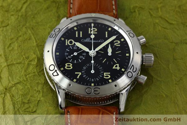 Used luxury watch Breguet Type XX chronograph steel automatic Kal. 582 Ref. 3800  | 152240 14