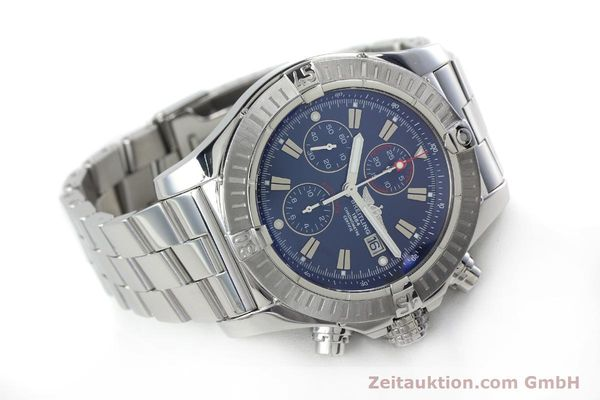Used luxury watch Breitling Avenger chronograph steel automatic Kal. B13 ETA 7750 Ref. A13370  | 152242 03