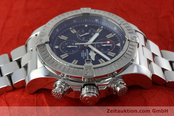 Used luxury watch Breitling Avenger chronograph steel automatic Kal. B13 ETA 7750 Ref. A13370  | 152242 05