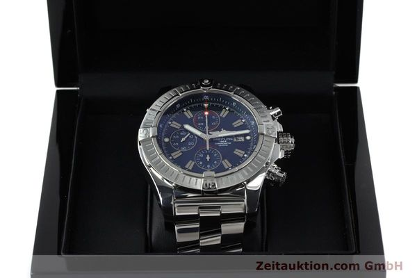 Used luxury watch Breitling Avenger chronograph steel automatic Kal. B13 ETA 7750 Ref. A13370  | 152242 07