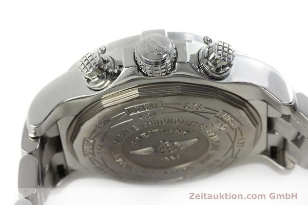 Used luxury watch Breitling Avenger chronograph steel automatic Kal. B13 ETA 7750 Ref. A13370  | 152242 08
