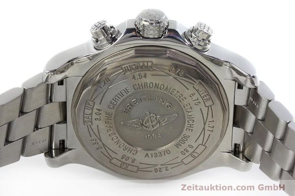 Used luxury watch Breitling Avenger chronograph steel automatic Kal. B13 ETA 7750 Ref. A13370  | 152242 09