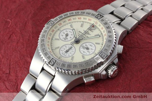 Used luxury watch Breitling Hercules chronograph steel automatic Kal. B39 ETA 2892A2 Ref. A39363  | 152244 01