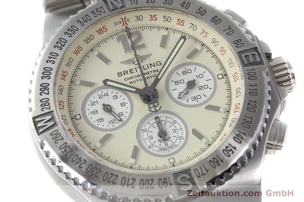 Used luxury watch Breitling Hercules chronograph steel automatic Kal. B39 ETA 2892A2 Ref. A39363  | 152244 02