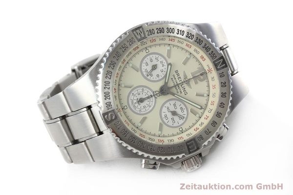 Used luxury watch Breitling Hercules chronograph steel automatic Kal. B39 ETA 2892A2 Ref. A39363  | 152244 03