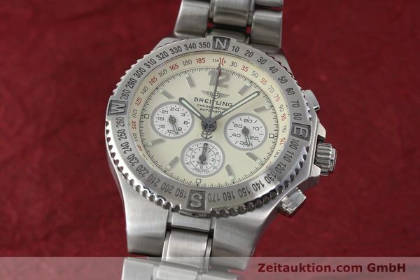 Used luxury watch Breitling Hercules chronograph steel automatic Kal. B39 ETA 2892A2 Ref. A39363  | 152244 04