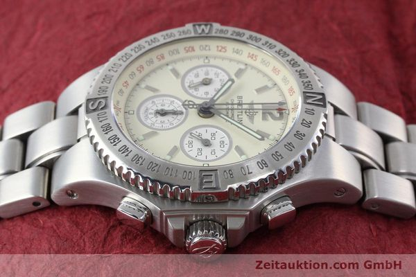 Used luxury watch Breitling Hercules chronograph steel automatic Kal. B39 ETA 2892A2 Ref. A39363  | 152244 05