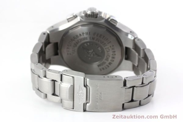 Used luxury watch Breitling Hercules chronograph steel automatic Kal. B39 ETA 2892A2 Ref. A39363  | 152244 11
