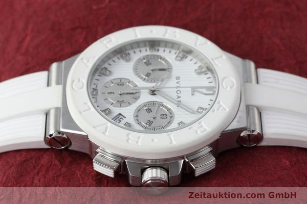 Used luxury watch Bvlgari Diagono chronograph steel automatic Kal. 080TEEV Ref. DG40SCH  | 152245 05