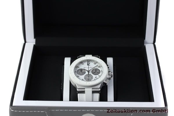 Used luxury watch Bvlgari Diagono chronograph steel automatic Kal. 080TEEV Ref. DG40SCH  | 152245 07