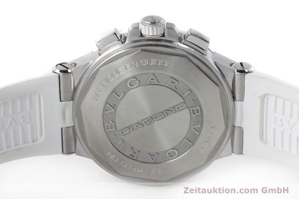 Used luxury watch Bvlgari Diagono chronograph steel automatic Kal. 080TEEV Ref. DG40SCH  | 152245 09