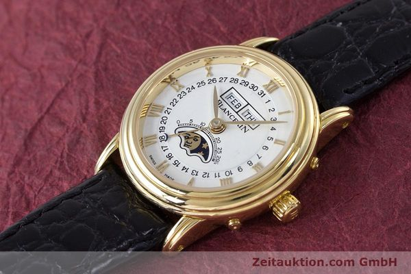 Used luxury watch Blancpain Villeret 18 ct gold automatic Kal. 6395 Ref. 6395-1418  | 152254 01