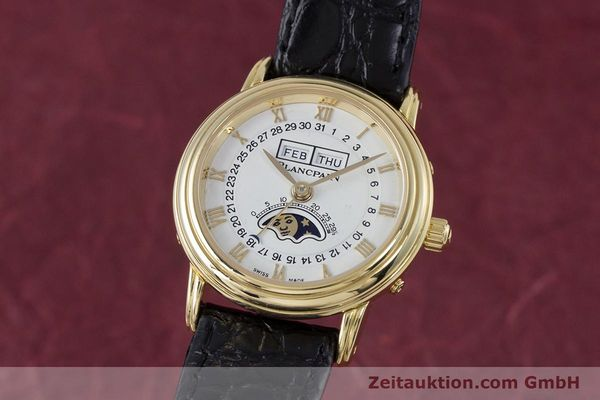 Used luxury watch Blancpain Villeret 18 ct gold automatic Kal. 6395 Ref. 6395-1418  | 152254 04