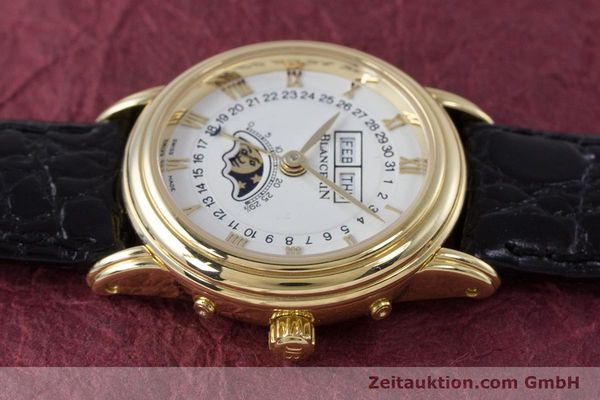 Used luxury watch Blancpain Villeret 18 ct gold automatic Kal. 6395 Ref. 6395-1418  | 152254 05
