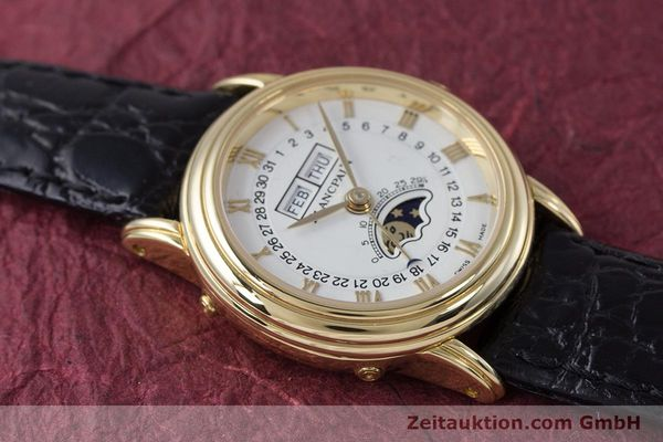 Used luxury watch Blancpain Villeret 18 ct gold automatic Kal. 6395 Ref. 6395-1418  | 152254 13