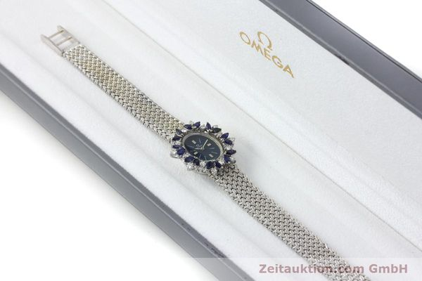 Used luxury watch Omega * 18 ct white gold manual winding Kal. 485  | 152255 07