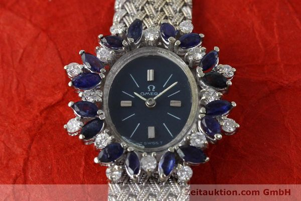 Used luxury watch Omega * 18 ct white gold manual winding Kal. 485  | 152255 14