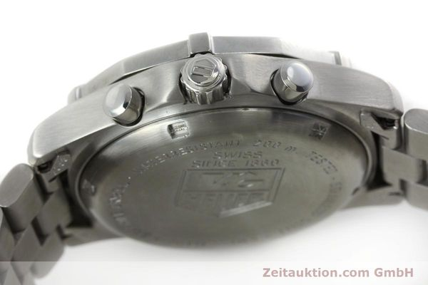 Used luxury watch Tag Heuer Professional chronograph steel quartz Kal. 4.98 ETA 251262  | 152256 08