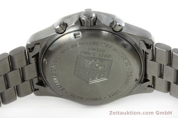 Used luxury watch Tag Heuer Professional chronograph steel quartz Kal. 4.98 ETA 251262  | 152256 09
