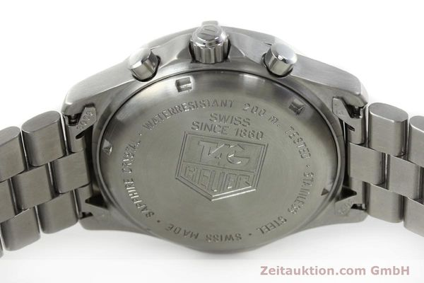 Used luxury watch Tag Heuer Professional chronograph steel quartz Kal. 4.98 ETA 251262  | 152256 10