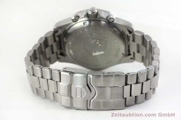 Used luxury watch Tag Heuer Professional chronograph steel quartz Kal. 4.98 ETA 251262  | 152256 11