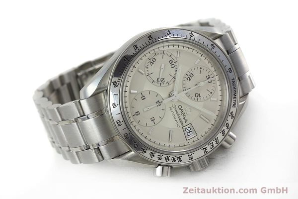 Used luxury watch Omega Speedmaster chronograph steel automatic Kal. 1152 Ref. 35133000  | 152262 03