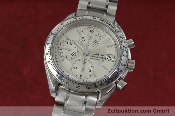 Used luxury watch Omega Speedmaster chronograph steel automatic Kal. 1152 Ref. 35133000  | 152262 04