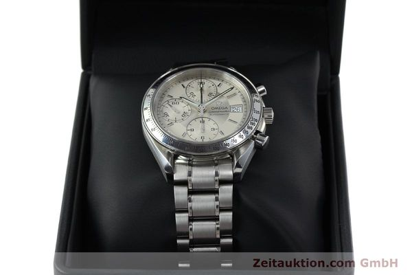 Used luxury watch Omega Speedmaster chronograph steel automatic Kal. 1152 Ref. 35133000  | 152262 07