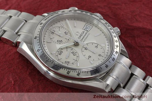 Used luxury watch Omega Speedmaster chronograph steel automatic Kal. 1152 Ref. 35133000  | 152262 17