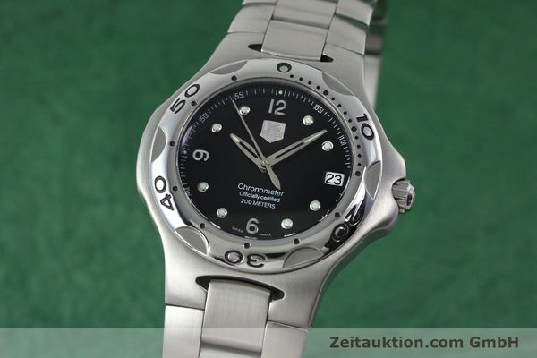 Used luxury watch Tag Heuer Kirium steel automatic Kal. ETA 2892A2 Ref. WL5113-0  | 152263 04