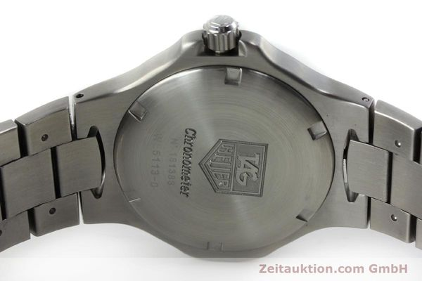 Used luxury watch Tag Heuer Kirium steel automatic Kal. ETA 2892A2 Ref. WL5113-0  | 152263 09