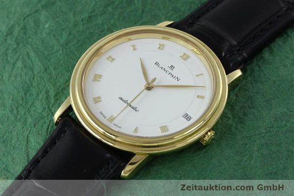 Used luxury watch Blancpain Villeret 18 ct gold automatic Kal. 9513  | 152264 01