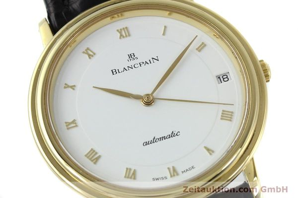 Used luxury watch Blancpain Villeret 18 ct gold automatic Kal. 9513  | 152264 02