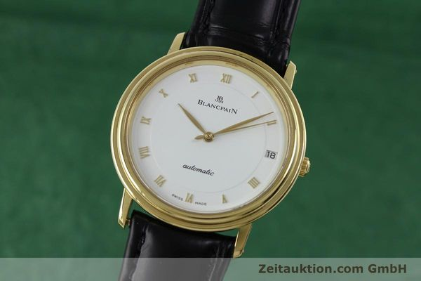 Used luxury watch Blancpain Villeret 18 ct gold automatic Kal. 9513  | 152264 04