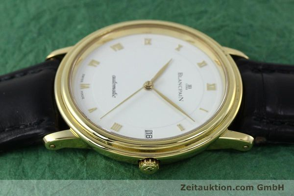 Used luxury watch Blancpain Villeret 18 ct gold automatic Kal. 9513  | 152264 05