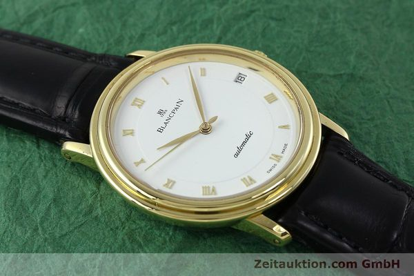 Used luxury watch Blancpain Villeret 18 ct gold automatic Kal. 9513  | 152264 16