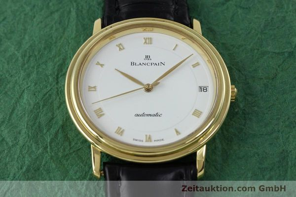 Used luxury watch Blancpain Villeret 18 ct gold automatic Kal. 9513  | 152264 17