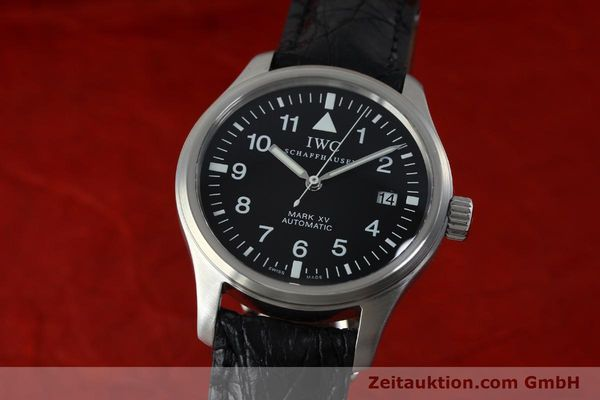 Used luxury watch IWC Mark XV steel automatic Kal. C.37524 Ref. 3253  | 152265 04