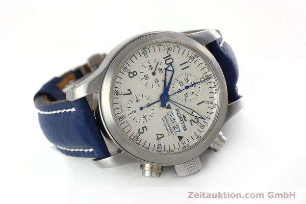 Used luxury watch Fortis B-42 chronograph steel automatic Kal. ETA 7750 Ref. 635.10.141  | 152270 03