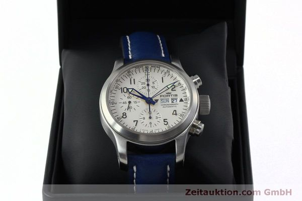 Used luxury watch Fortis B-42 chronograph steel automatic Kal. ETA 7750 Ref. 635.10.141  | 152270 07