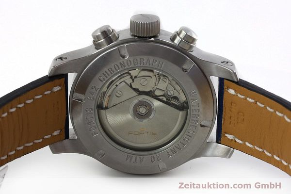 Used luxury watch Fortis B-42 chronograph steel automatic Kal. ETA 7750 Ref. 635.10.141  | 152270 09