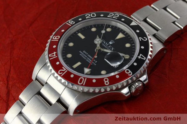 Used luxury watch Rolex GMT-Master II steel automatic Kal. 31854 Ref. 16710  | 152271 01