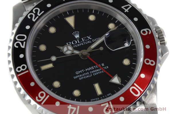 Used luxury watch Rolex GMT-Master II steel automatic Kal. 31854 Ref. 16710  | 152271 02