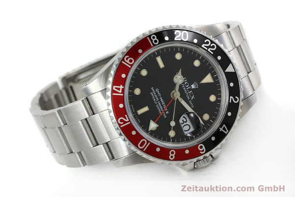 Used luxury watch Rolex GMT-Master II steel automatic Kal. 31854 Ref. 16710  | 152271 03