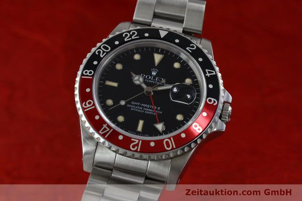 Used luxury watch Rolex GMT-Master II steel automatic Kal. 31854 Ref. 16710  | 152271 04